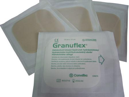 GRANUFLEX 20/20 cm ConvaTec